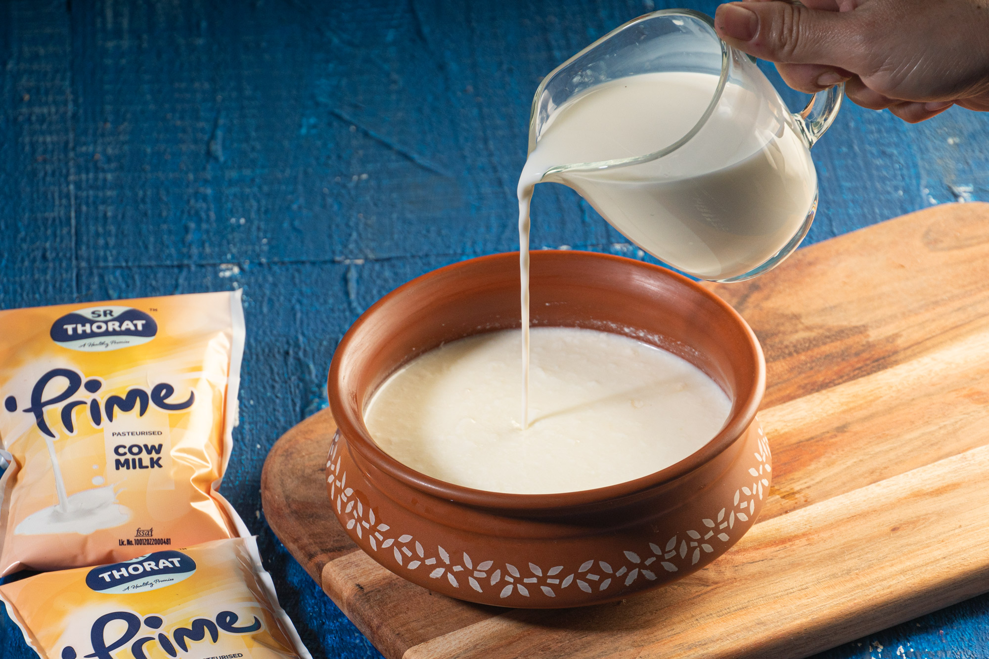 Add a little Milk